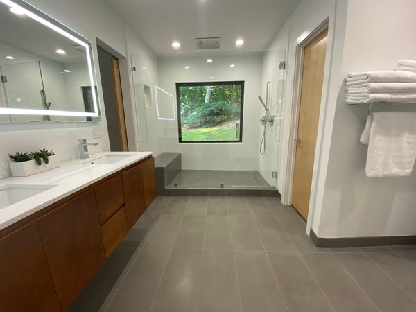 Bathroom remodeling costs are worth it when your bathroom looks this good
