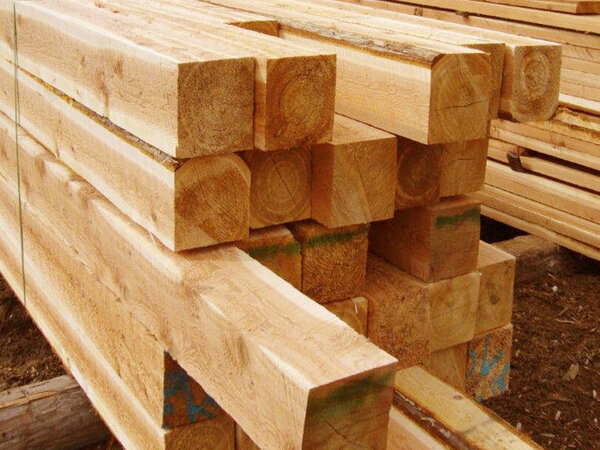 Prices for lumber like this are increasing