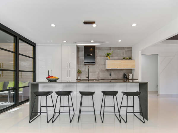 New modern kitchen after following the kitchen remodeling checklist and timeline